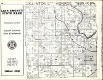 Clinton, Monroe T83N-R8W, Linn County 1963